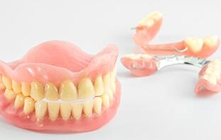 入れ歯の調整・ 修理・製作